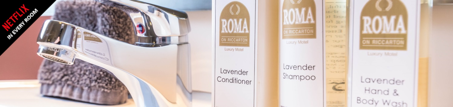 Luxury - complementary shampoo, soaps - for a relaxed stay