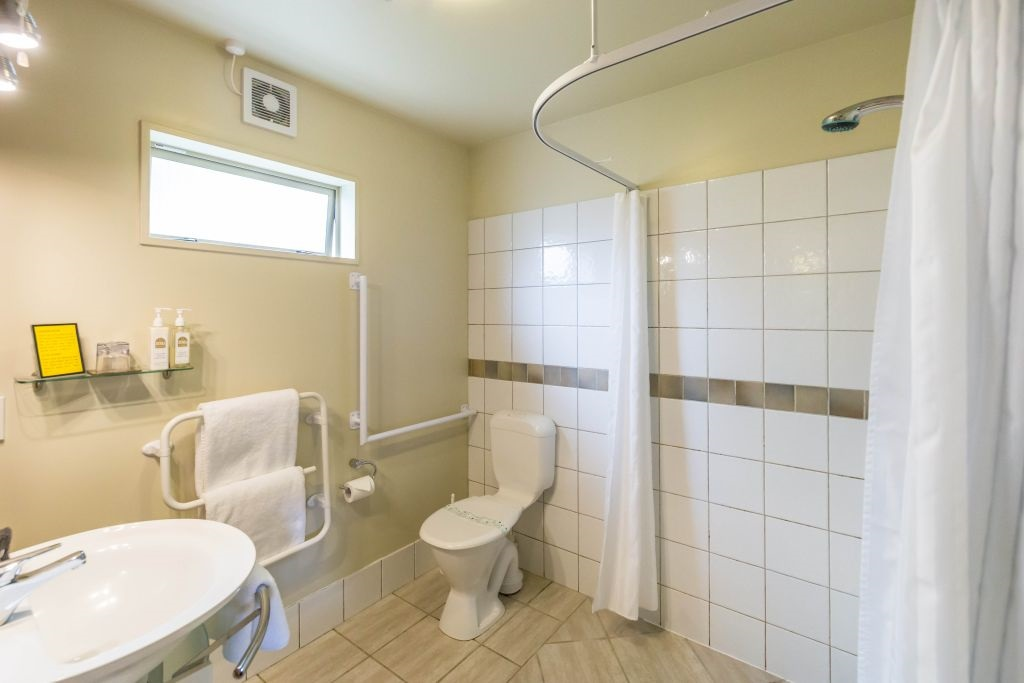 Easy Access Wet Room For Disabled Access To Shower